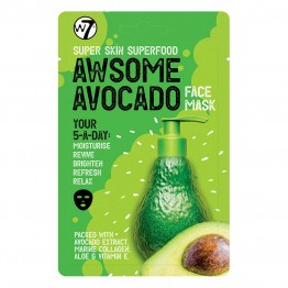 W7 Super Skin Superfood Face Mask - Awesome Avocado