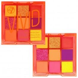 W7 Vivid Eyeshadow Palette - Outrageous Orange