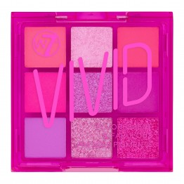 W7 Vivid Eyeshadow Palette - Punchy Pink