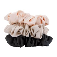 W7 Silky Knots Hair Scrunchies 3 Pack