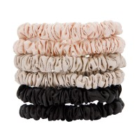 W7 Silky Knots Hair Scrunchies 6 Pack