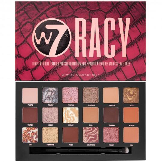 W7 Racy Pressed Pigment Palette