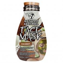 W7 Metallic Easy-Peel Coconut Face Mask