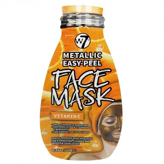 W7 Metallic Easy-Peel Vitamin C Face Mask