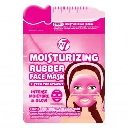 W7 Moisturising 2 Step Treatment Rubber Face Mask