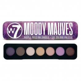 W7 Moody Mauves Eyeshadow Palette