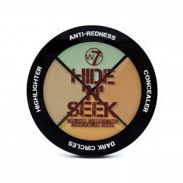 W7 Hide 'N' Seek - Anti-Redness Concealer Quad