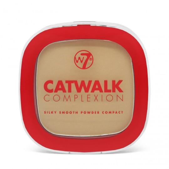 W7 Catwalk Complexion Compact Powder - Beige
