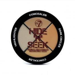 W7 Hide 'N' Seek - Natural Concealer Quad