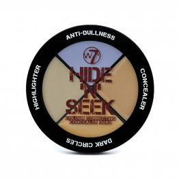 W7 Hide 'N' Seek - Anti-Dullness Concealer Quad