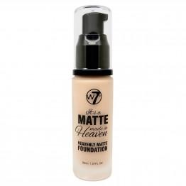 W7 Matte Made In Heaven Foundation - Matte Sand Beige