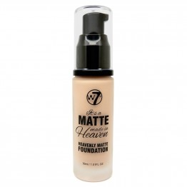 W7 Matte Made In Heaven Foundation - Matte Natural Beige