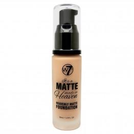 W7 Matte Made In Heaven Foundation - Matte True Beige