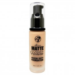 W7 Matte Made In Heaven Foundation - Matte Fresh Beige
