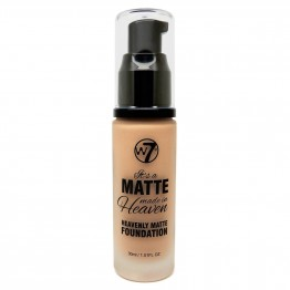 W7 Matte Made In Heaven Foundation - Matte Natural Tan