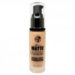 W7 Matte Made in Heaven Foundation - Matte Early Tan