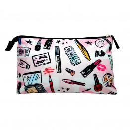 W7 Large Cosmetic Print Bag