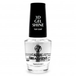 W7 Nail Treatment - 3D Gel Shine Top Coat