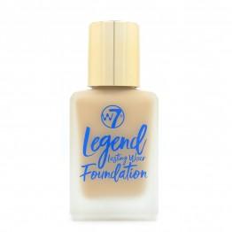W7 Legend Lasting Wear Foundation - Sand Beige