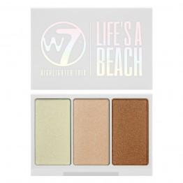 W7 Life's A Beach Highlighter Trio