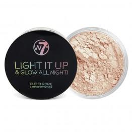 W7 Light It Up & Glow All Night! Highlighting Powder - No Vacancy