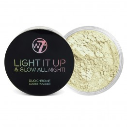 W7 Light It Up & Glow All Night! Highlighting Powder - Open 24/7
