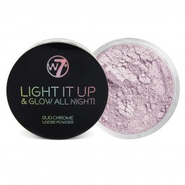 W7 Light It Up & Glow All Night! Highlighting Powder - Soho Soho Soho
