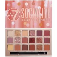 W7 Socialite Eyeshadow Palette